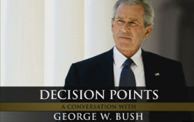 The cover of George W Bush's memoirs, Decision Points.