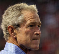 George W Bush defends use of 'waterboarding'