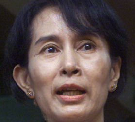 Aung San Suu Kyi has been released from house arrest in Burma (Image: Reuters)