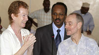 Paul and Rachel Chandler are freed by Somalian pirates (Image: Reuters)