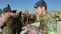 Remembrance Sunday: Prince William honours fallen in Afghanistan (Image: Getty)
