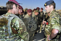 Prince William visits Afghanistan
