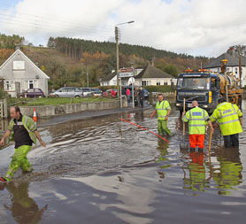 Flooded Cornwall awakes to major clear-up operation (Getty)