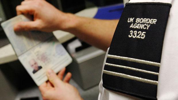UK border police.