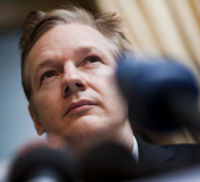 WikiLeaks founder Julian Assange. Governments around the world are braced for WikiLeaks to release seven times more classified files than last month (Credit:Reuters)