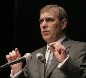 Prince Andrew - a special UK trade representative (Reuters)