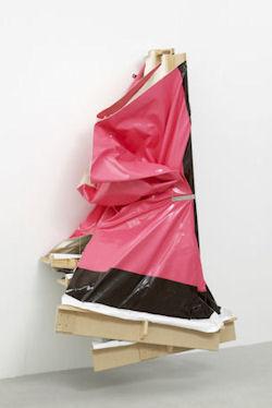 Turner Prize 10: Angela de la Cruz, Super Clutter XXL (Pink and Brown), 2006