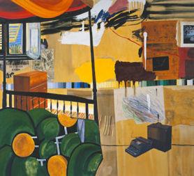 Burroughs in Tangiers, (2005). Dexter Dalwood. (Tate)