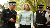 Home secretary Theresa May out on patrol with police in London