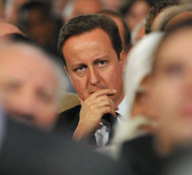 David Cameron defends child benefit cut