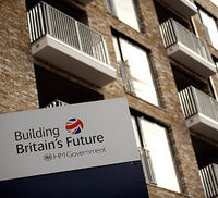 New homes are constructed on the site of the huge Aylesbury council estate in Southwark, home to 7,500 people, on September 21, 2010 in London, England.