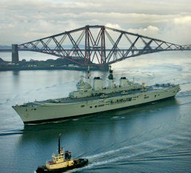 HMS Ark Royal scrapped in Defence cuts (Reuters)
