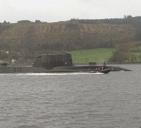 The HMS Astute ran aground on Thursday (Reuters).