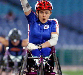 Dame Tanni Grey-Thompson won 11 Paralympic gold medals (Reuters)
