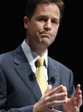 Nick Clegg can't kick the smoking habit (Getty)