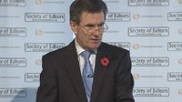 MI6 chief's 'historic' speech