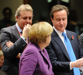 Cameron claims EU budget victory