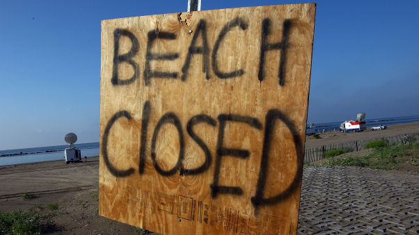 Disaster sign (Getty)