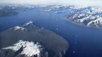 Aerial view of Greenland's west coast. (Reuters)