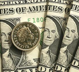 US Dollars and British Pound