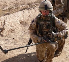 Afghanistan bomb disposal: the lonely walk.