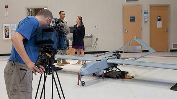 Sarah Smith examines drone technology in Arizona.