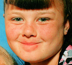 Shannon Matthews, kidnapped by her mother in February 2008