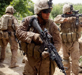 Afghanistan: US troops in combat