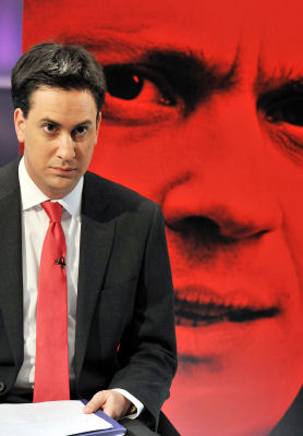 Ed Miliband takes part in Channel 4 News Labour leadership hustings.