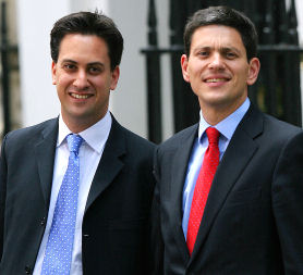Labour leadership: Ed and David Miliband. (Getty)