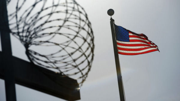 Guantanamo bay detention camp. (Reuters)