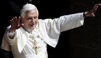 Pope Benedict prepares to arrive in Britain on Thursday for a state visit (Getty)