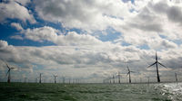 Thanet Offshore Wind Farm opened off the Kent coast (Vattenfall)