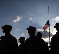 Wounded Warriors: US Army face mental health crisis (Getty)