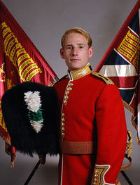 Lt Mark Evison, Platoon Commander 1st Battalion Welsh Guards