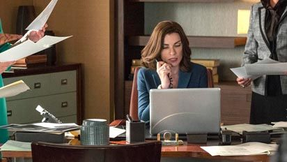 the good wife starring emmy and golden globe award winner julianna