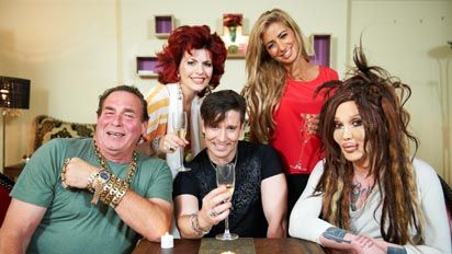 Pete Burns In Celebrity Come Dine With Me - YouTube