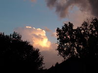 July 7, 2014 Thunderstorm in Lakewood, CO