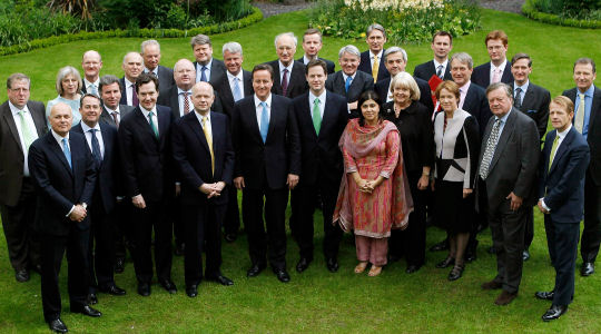 Who Knows Who: the coalition cabinet - Channel 4 News