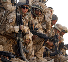 British Solrs In Afghanistan Reuters