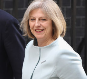 Home Secretary Theresa May (Getty)