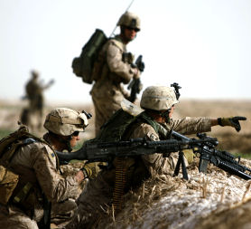 US Marines, Afghanistan (Getty)