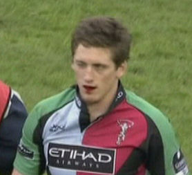 Harlequins Bloodgate Tom Williams After Chewing A Fake Blood Capsule During The Heineken Cup